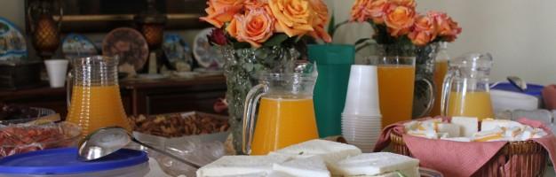 Desayuno inicio de actividades Ujieres 2015