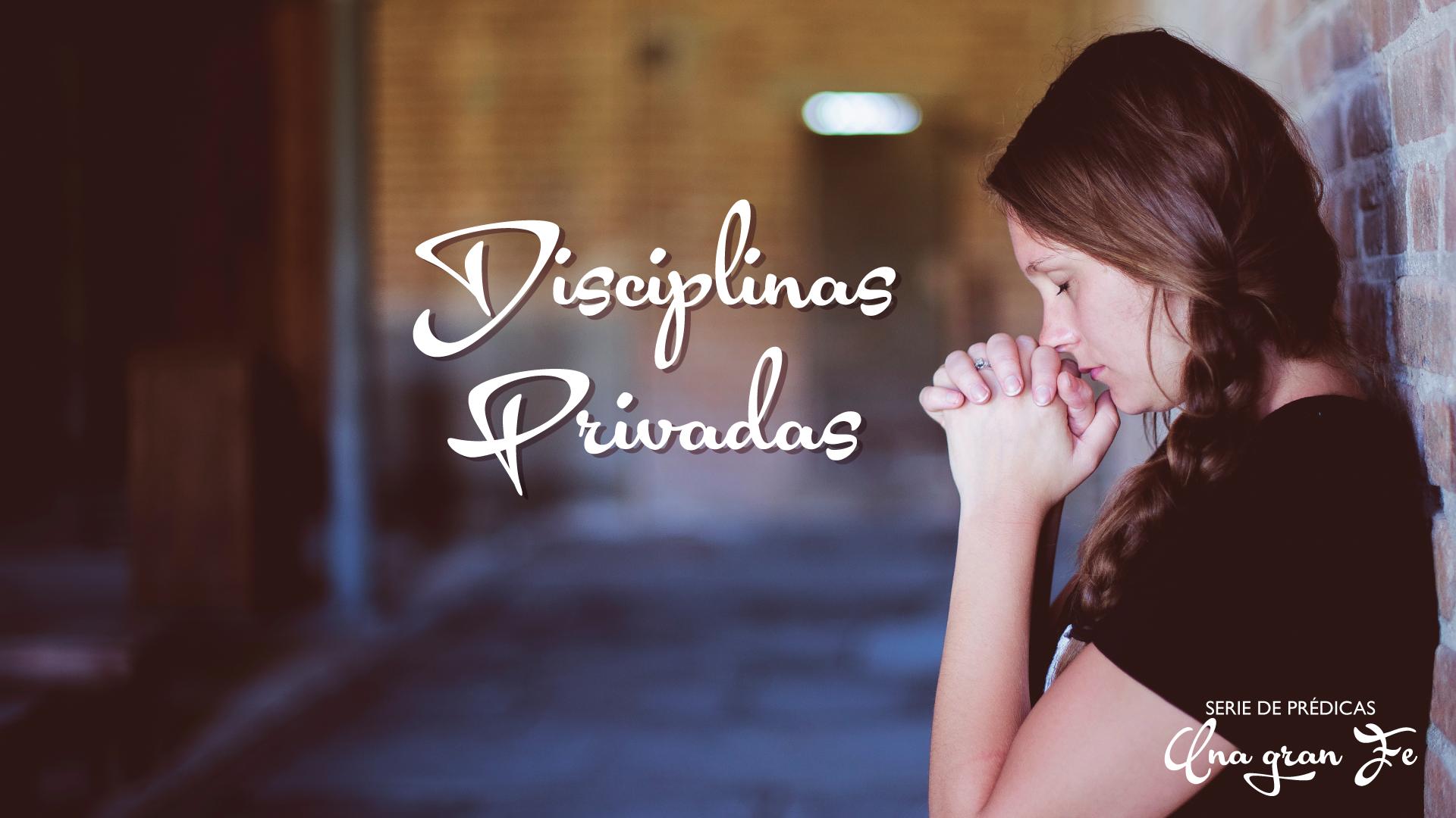 Disciplinas Privadas