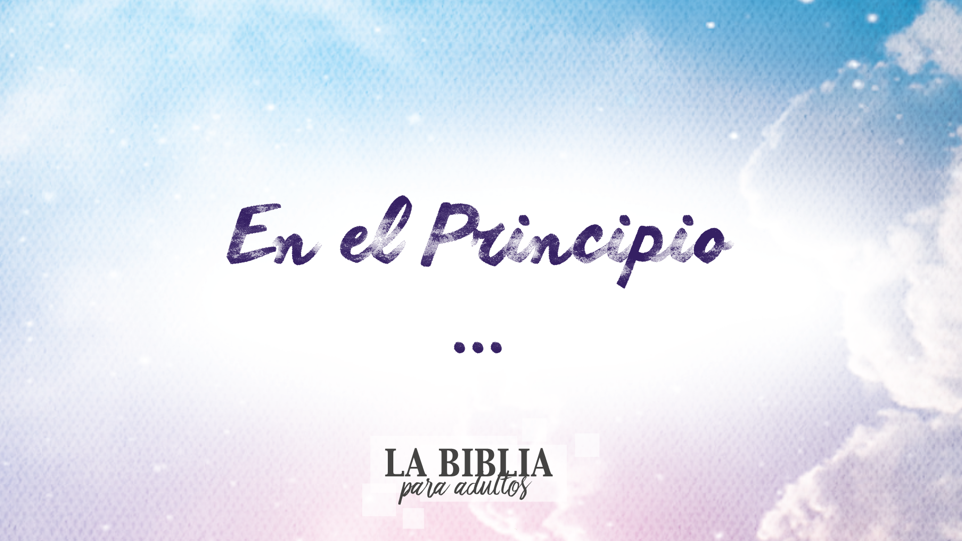 En El Principio